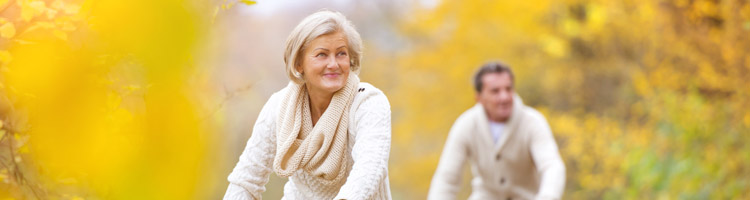 Final Salary Transfer page - Active seniors walking