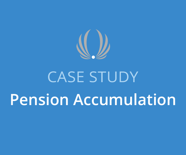 pension accumulation case study