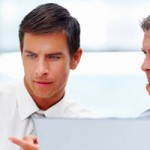 Financial Planner - Financial Adviser and client
