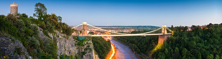 Clifton Suspension Bridge - Financial Advisors Bristol page