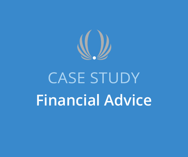 financial advice case study